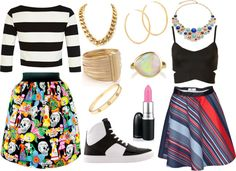 """Little Mix ""How Ya Doin' "" Inspired Outfit - Leigh-Anne Pinnock"" by questionconformity on Polyvore"