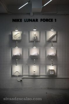 Nike Lunar Force 1 Display @ sivasdescalzo Madrid