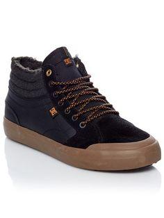 c9a2c144a5 DC Black Black Gum Evan Smith Classic Winterized - Sherpa Lined Shoe