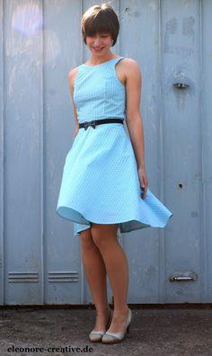 Backless Dress meets Vintage Love Boat