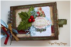 MERRY CHRISTMAS Victorian Vintage Themed Paper by WhimsybyShellye