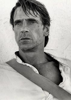 Jeremy Irons by Andre Rau