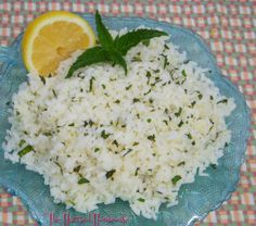 Easy recipes are always during summer. Here's a refreshing recipe for Easy Lemon Mint Rice.