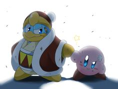 Kirby and King Dedede. Truce?