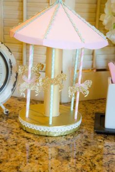 Carousel Birthday Party Ideas | Photo 1 of 15 | Catch My Party