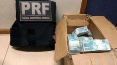 PRF flagra suspeitos com mais de R$850 mil em carro na Dutra
