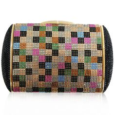 Judith Leiber Multicolor Clutch http://www.consignofthetimes.com/product_details.asp?galleryid=7156