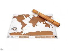 SCRATCH MAP - Worldmap! Awesome...