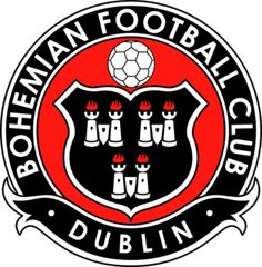 The Bohemian Football Club, founded on September are the oldest football club in Dublin, Ireland. The club are located in the Phibsboro area of North Dublin City and play their home games in Dalymount Park. Football Team Logos, Soccer Logo, Football Soccer, Soccer Teams, Sports Logos, British Football, European Football, Portsmouth, Newcastle
