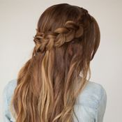 How to do a wrap around braid - Hair and Make-up by Steph: Step by Steps