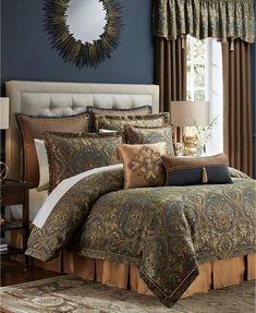 Jc Penney Chris Madden Gold Damask 9pc King Comforter