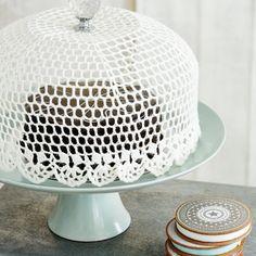 Projeto Craft #3 - Cobre bolo de crochê