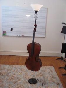 Cello Lamp!