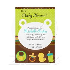 Baby Shower Invitation from Zazzle.com