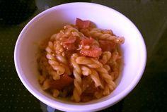 Paprika-Okra-One-Pot-Pasta aus dem Instant Pot