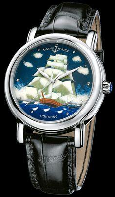 Ulysse Nardin San Marco Cloisonne Watch #watchesformen, #luxurywatches, #bestwatchbrands, #watches