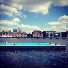 Cool badeschiff berlin