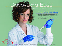 In Discovery's Edge, you'll find the latest research news and discoveries from Mayo Clinic, how you want to read it, when you want to read it, where you want to read it. Highlights in this issue include a look at the past, present and future of research at Mayo Clinic.