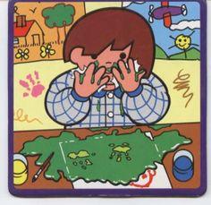Dziecko rozlewa farbę 3