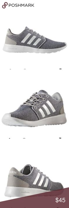 adidas Neo Women's Cloudfoam QT Racer Casual Shoes Rock a stylish athletic look daily with the adidas Neo® Cloudfoam QT Racer shoes. These running-inspired shoes are designed with total comfort in mind, and feature a cloudfoam sockliner, midsole and outsole all to deliver a plush, soft feeling underfoot. A textile lining increases overall step-in comfort, while the outsole design offers durability for long-lasting wear. . Mesh upper construction delivers lightweight fit, Slim, feminine…