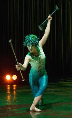 Varekai by Cirque du Soleil at the Agganis Arena Boston  Photo: John Davis Costumes: Eiko Ishioka ©2010 Cirque du Soleil