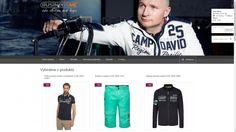 Pan Moravec, který již 20 let působí jako módní návrhář, se domluvil s firmou Camp David a začal prodávat tuto značku. Camp David, Camping, Technology, Campsite, Outdoor Camping, Rv Camping