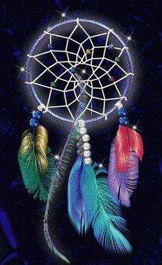 What Are Dream Catchers Originalgalaxydreamcatcherwatercolorpaintingbybrietronart