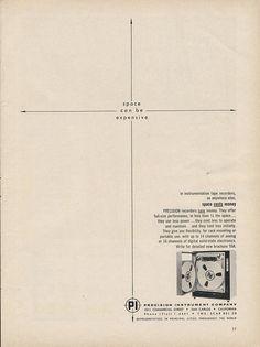 Precision Instrument Company Ad