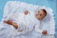 Крестильный комплект для девочки - Костюм.Комплект - Вязание для детей -МАСТЕР-КЛАССЫ ПО РУКОДЕЛИЮ- Страна рукоделия