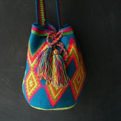 SALE --- Amiga Wayuu Mochila Bag : #DiversoStudio
