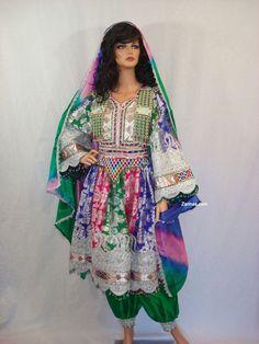 #Afghan Formal Dress