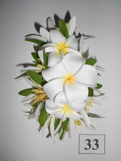 Pince à cheveux PLUMERIA ARIA-hawaïen fleur par HawaiianHairlooms