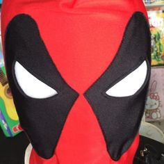 Dead pool mask! New seal nice stretch super hero dead pool mask. Marvel dead pool Accessories