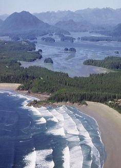 Tofino, British Columbia, Canada On Vancouver Island. Visiting Tofino is on my bucket list. British Columbia, Dream Vacations, Vacation Spots, Places To Travel, Places To See, All Nature, Sunshine Coast, Canada Travel, Places Around The World