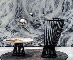 Tom Dixon - Fauteuil design - Collection Fan