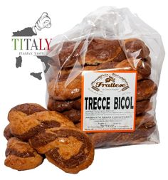 BISCUITS TRECCINE TWO COLOR 1,0 kg