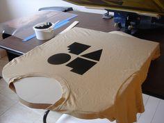 DIY silkscreen setup... at some point...