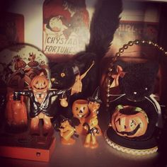 My vintage Halloween Collection