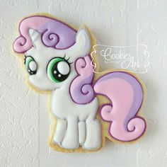 My Little Pony #2 - Cookies Art by Shirlyn