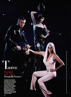 """It's All in the Stars"": Karl Lagerfeld Shoots Fashion Designers and Models by Zodiac Sign for US Harper's Bazaar"