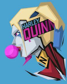 This HD wallpaper is about Harley Quinn digital wallpaper, DC Comics, blue, blue background, Original wallpaper dimensions is file size is Dc Comics Art, Marvel Dc Comics, Comic Book Characters, Comic Character, Batgirl, Catwoman, Dc Comics Peliculas, Avengers, Hq Dc