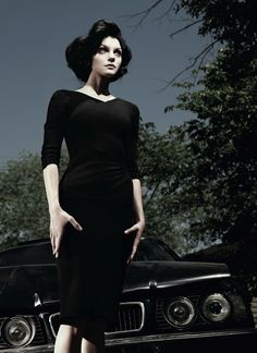 Jessica Stam in AnOther Magazine Fall 2012: Left In Darkness by Willy Vanderperre