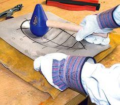 Metal Fabrication Panelbeater Sandbag & Teardrop Mallet