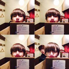 V + Jin.. ㅋㅋㅋ