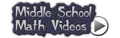 Johnnie's Middle School Math - Middle School Math Videos - Algebra Videos, Geometry Videos and more