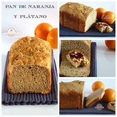 Pan de Naranja y Plátano