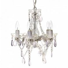 Small Gypsy Chandelier- Clear £75