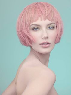 """The Face"" HIGHLIGHTS Magazine. Model Gintare S. by Stefka Pavlova, via Behance"