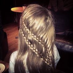 Double waterfall plait!