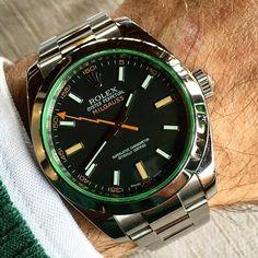 Milgauss Green